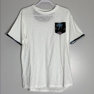 NWOT Free Planet Short Cuff Sleeve Cotton Tee